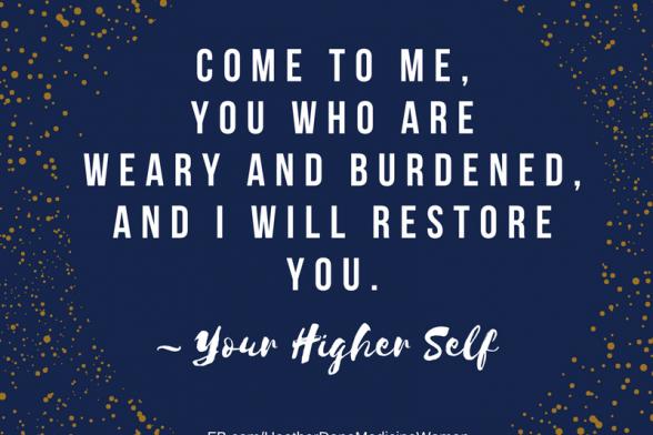 Focus on Restoring Yourself