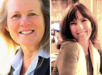 Dr Judy Mikovits and Annie Dru Allshouse