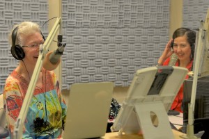 Louise Hay and Heather Dane in Studio