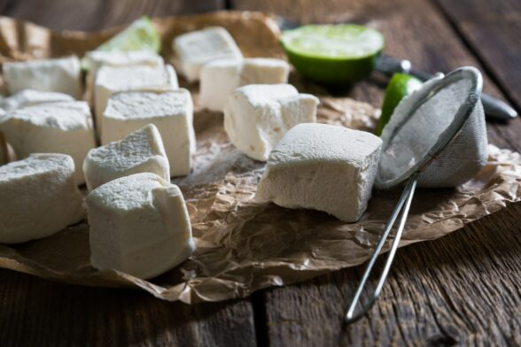 Healthy Homemade Marshmallows and Whipped Topping