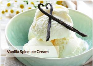 Vanilla Spice Ice Cream