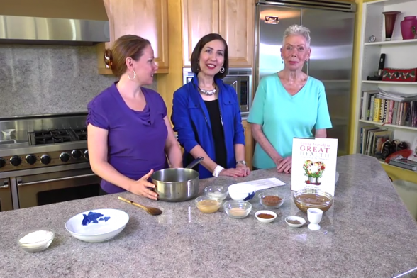 Easy Chocolate Fudge Recipe Video from Louise Hay's Kitchen