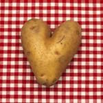 heartshaped potato love