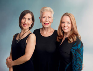 Heather Dane and Louise Hay with Ahlea