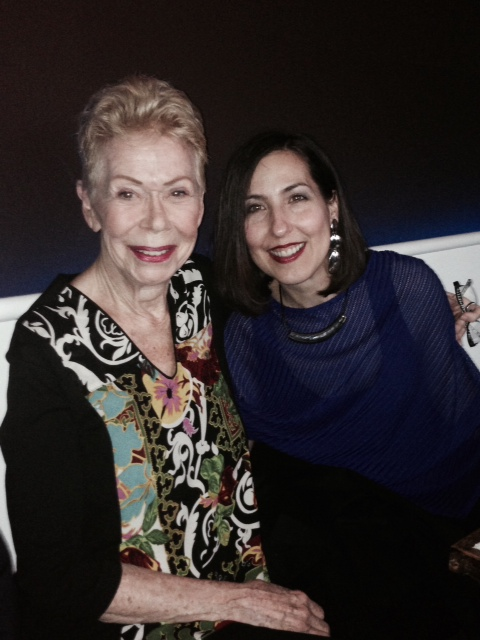 """Louise Hay becomes Louise Play. At a dear friend's birthday party in Carmel, CA 2013, Heather and Louise discuss what retirement could look like. Heather suggests Louise change her name to """"Louise Play"""" and they laugh so hard that it becomes a new nickname."""