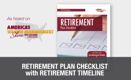 free retirement plan checklist
