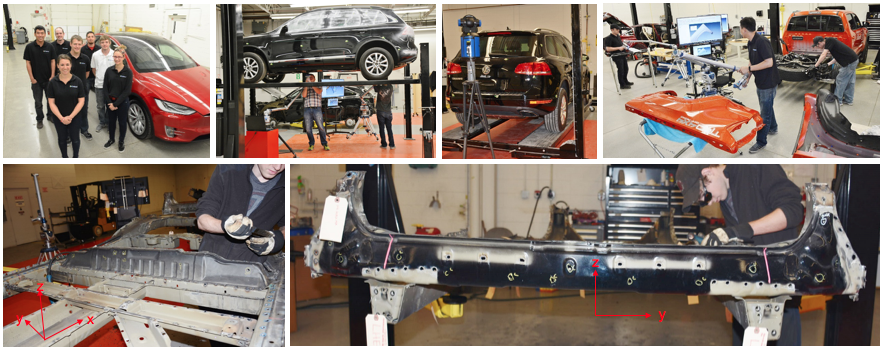 Vehicle Teardown & 3D Scan