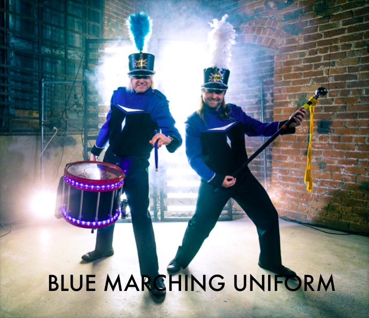 Blue Marching Uniform