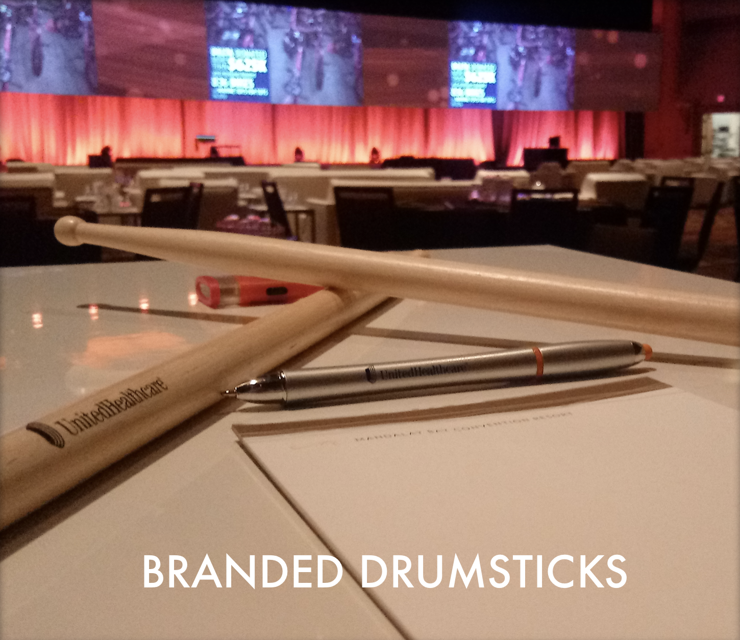 Branded Drumsticks