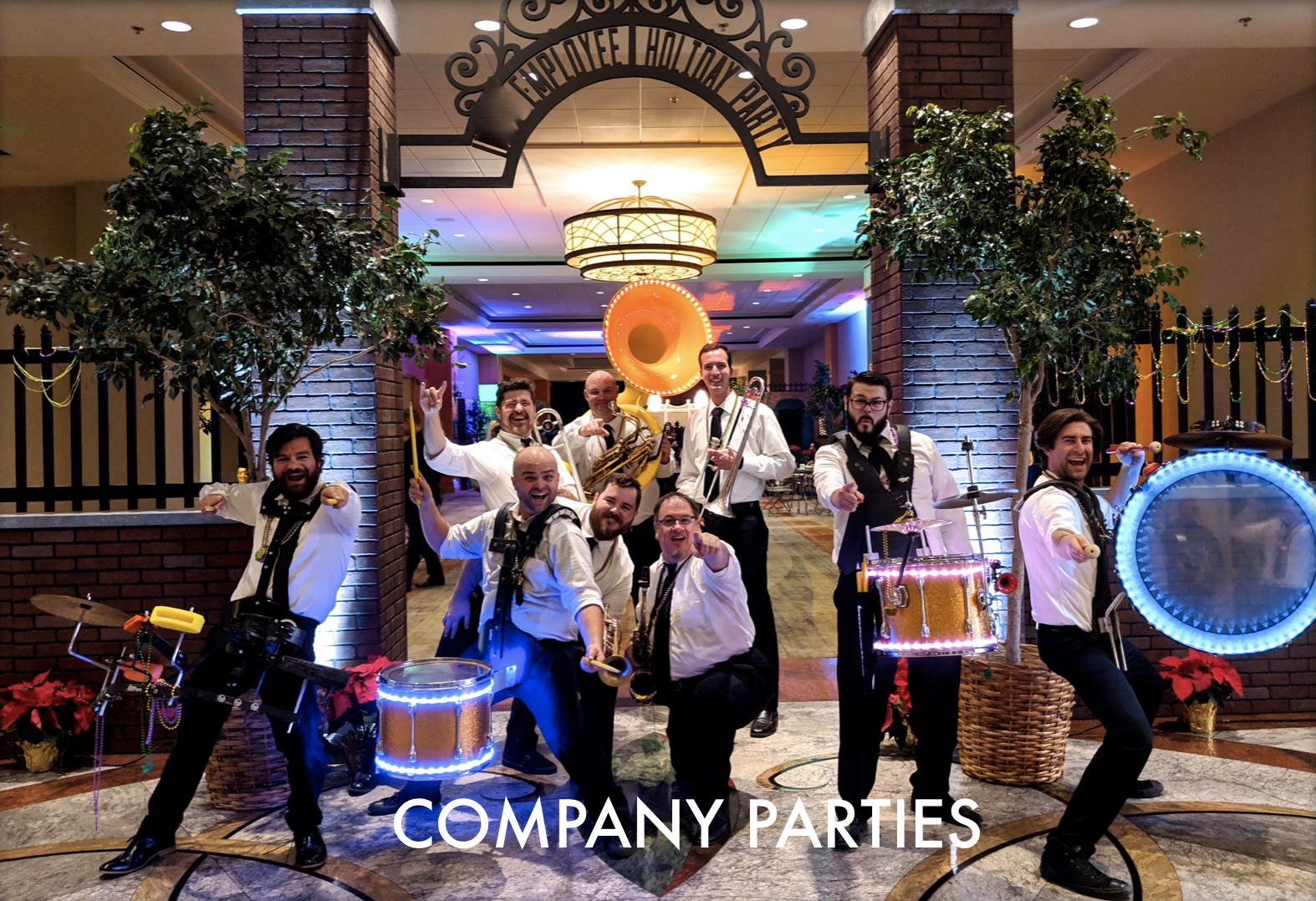 Brass Band Company Parties