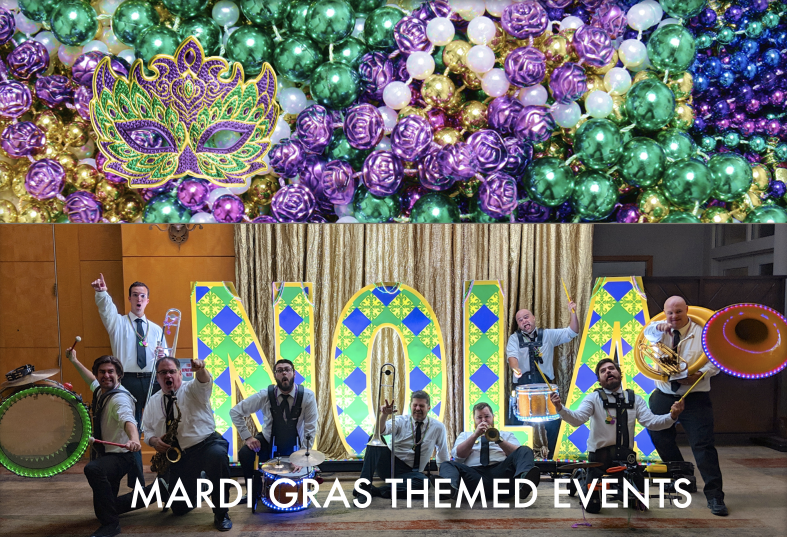 Brass Band Mardi Gras