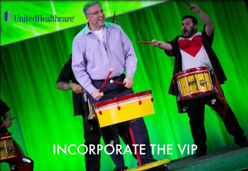 Incorporate the VIP