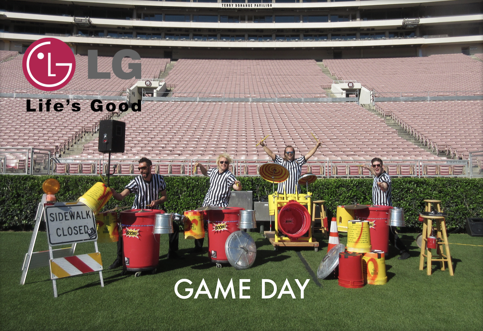 LED TCP Game Day