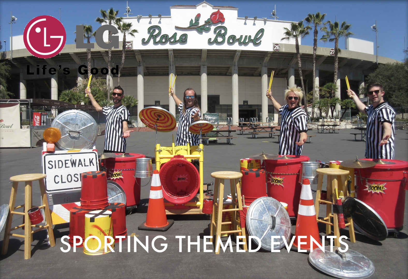 LED TCP Sporting Themed Events