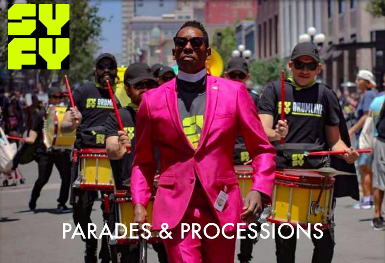 Parades & Processions