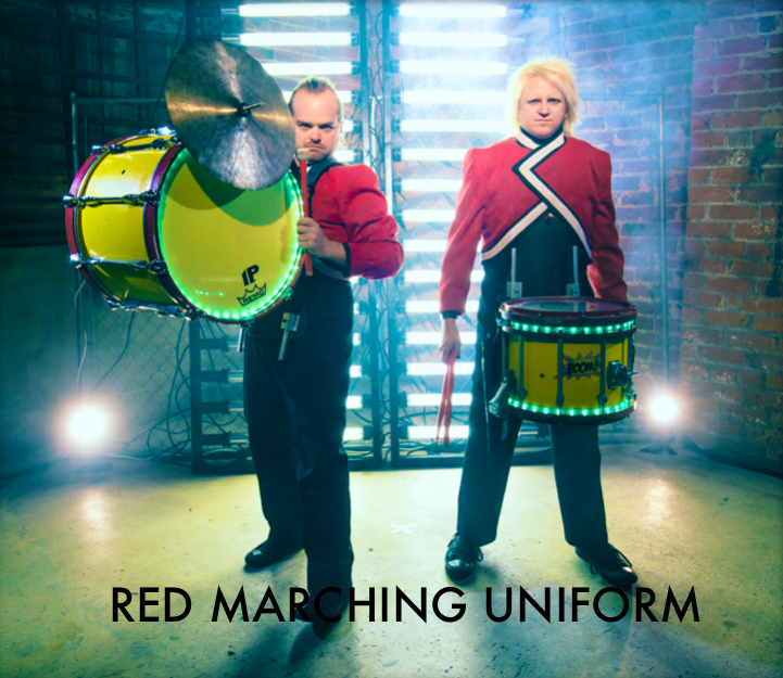 Red Marching Uniform