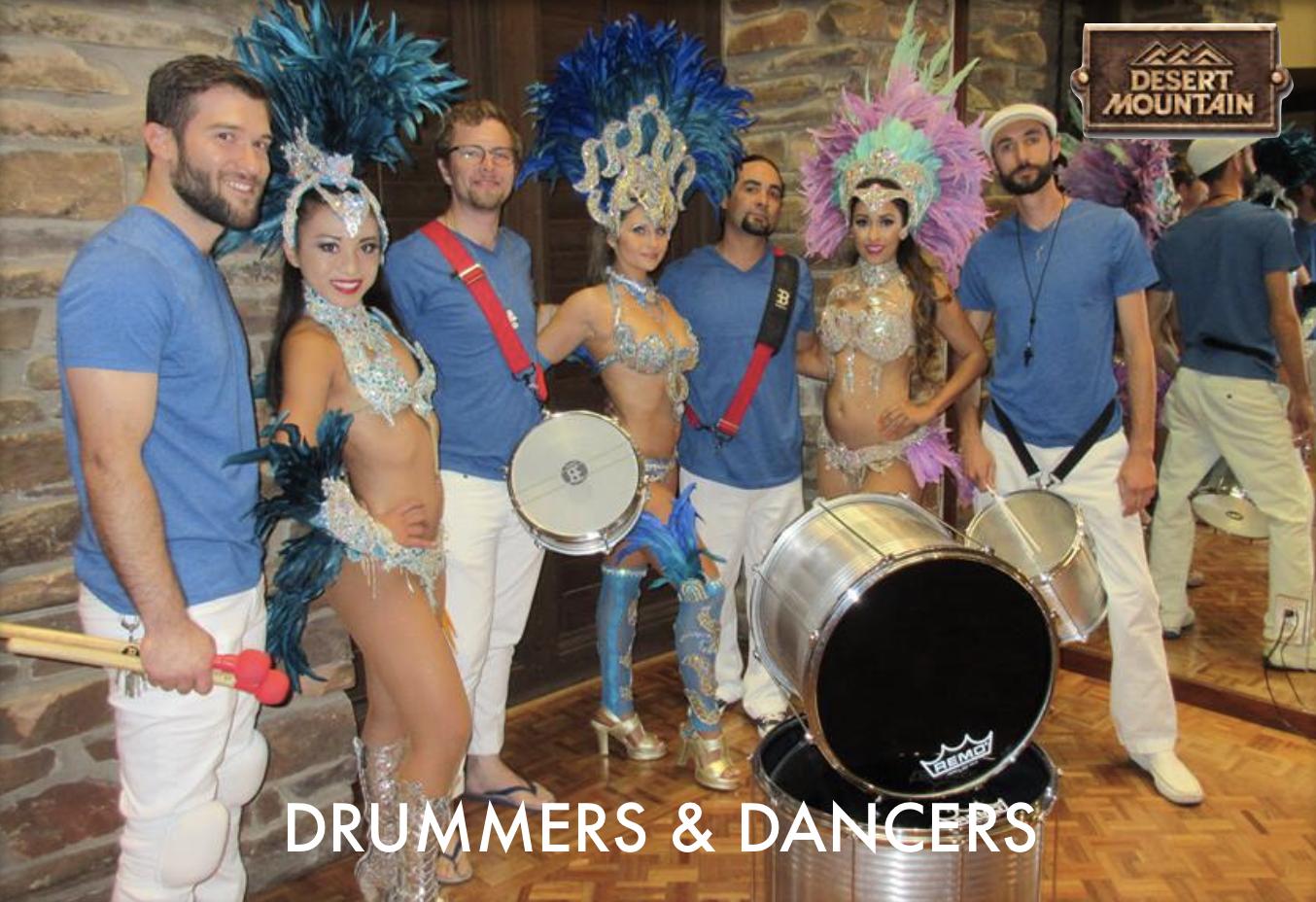 Samba Drummers & Dancers