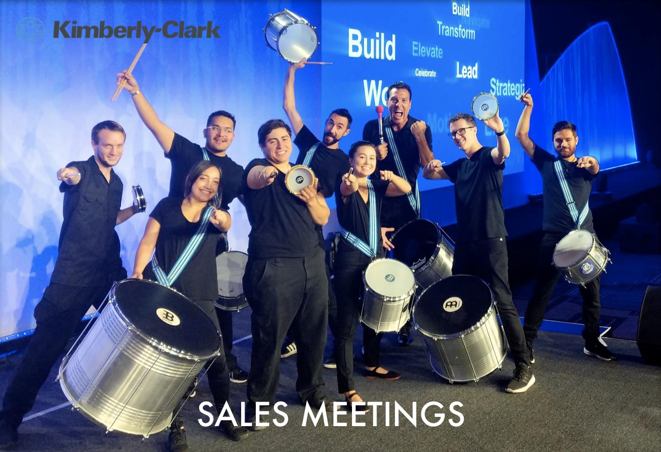 Samba Sales Meeting
