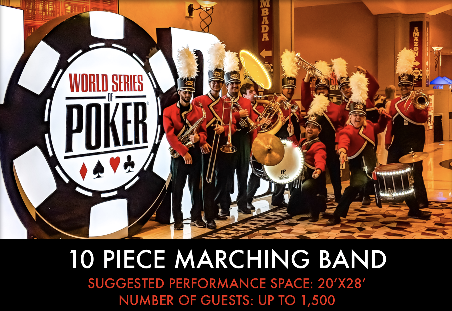 10 piece Marching Band