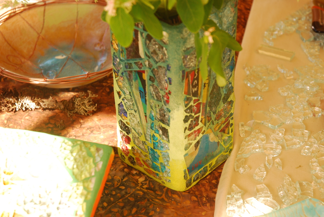 Fused Glass Mosaic Creations