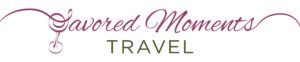 Savored Moments Travel Logo Dark