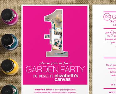 Elizabeth's Canvas Garden Party