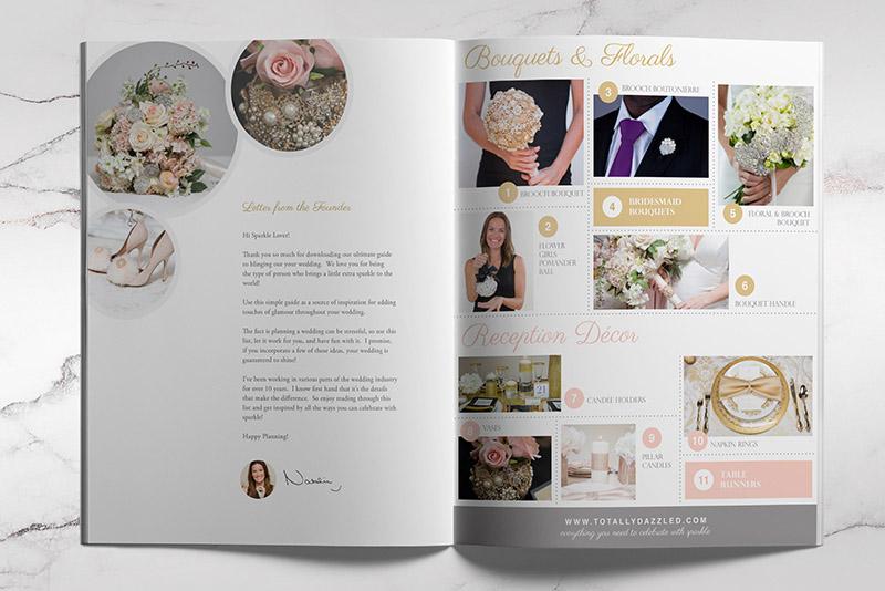 Wedding Bling Brochure
