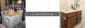 cabinet makeover - refacing