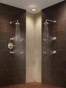 Dual shower heads 2