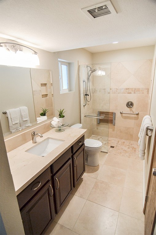 Remodeling A Bathroom For The Aging