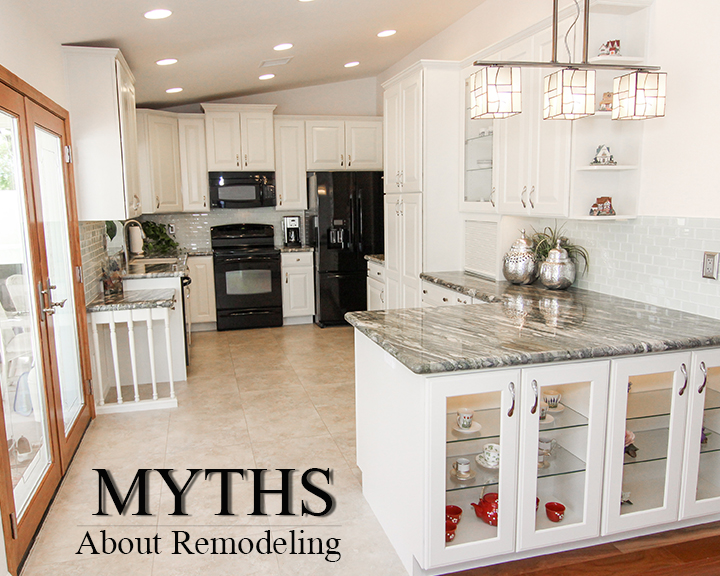 5 Common Myths About Remodeling Your Kitchen Or Bathroom