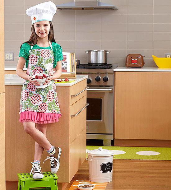 Kid-Friendly Kitchens!