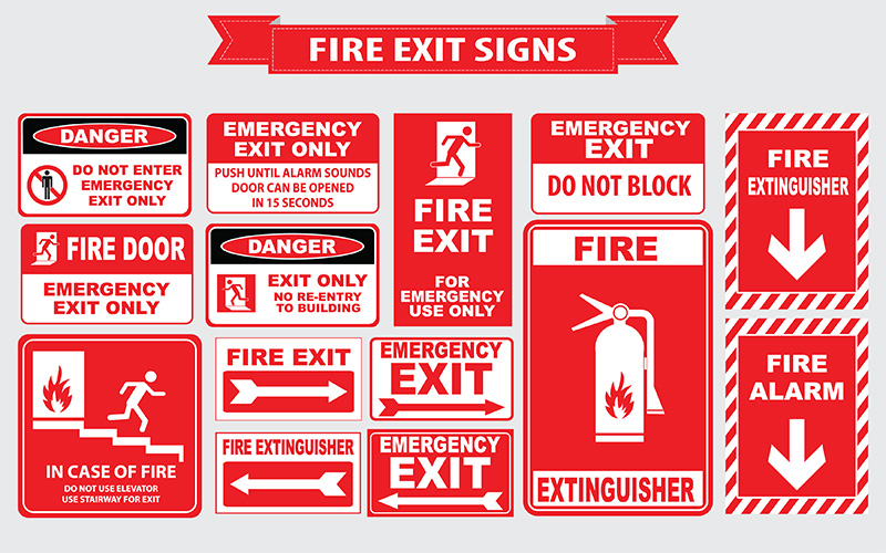 Signs for Extinguisher Services