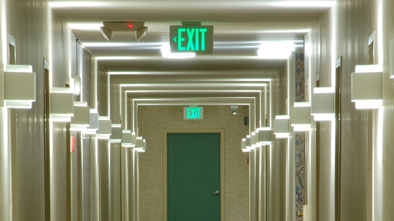Emergency Exit Sign Installation and Inspection