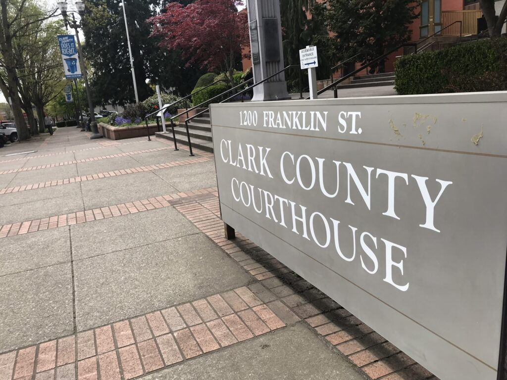 Marvin Benson's law office is located conveniently next to the Clark County Courthouse in Vancouver WA
