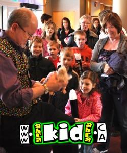 Magic Guy Peter Mennie Meet & Greet Family Audiences