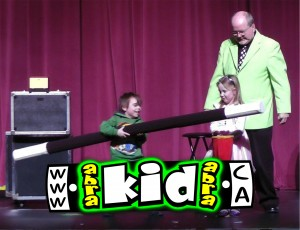 magician peter mennie a bigger magic wand
