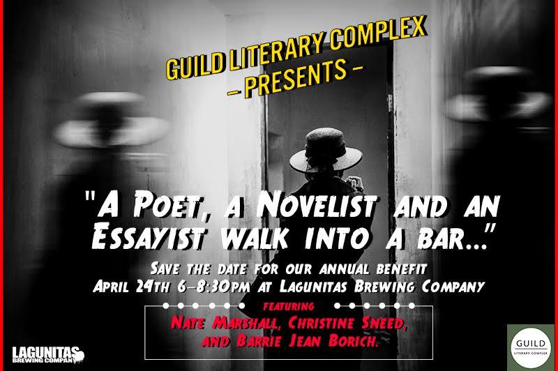 A Poet, A Novelist and an Essayist Walk Into a Bar…