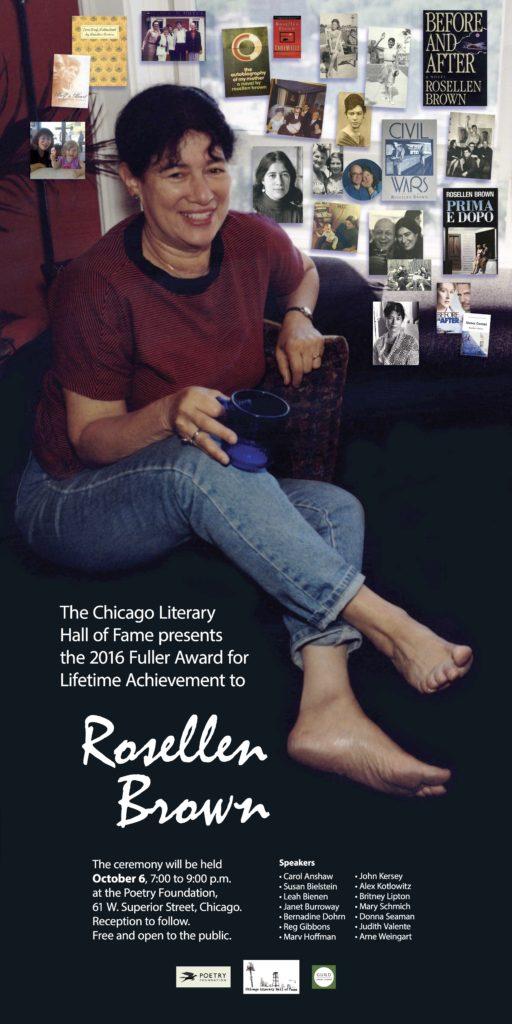 Rosellen Brown poster