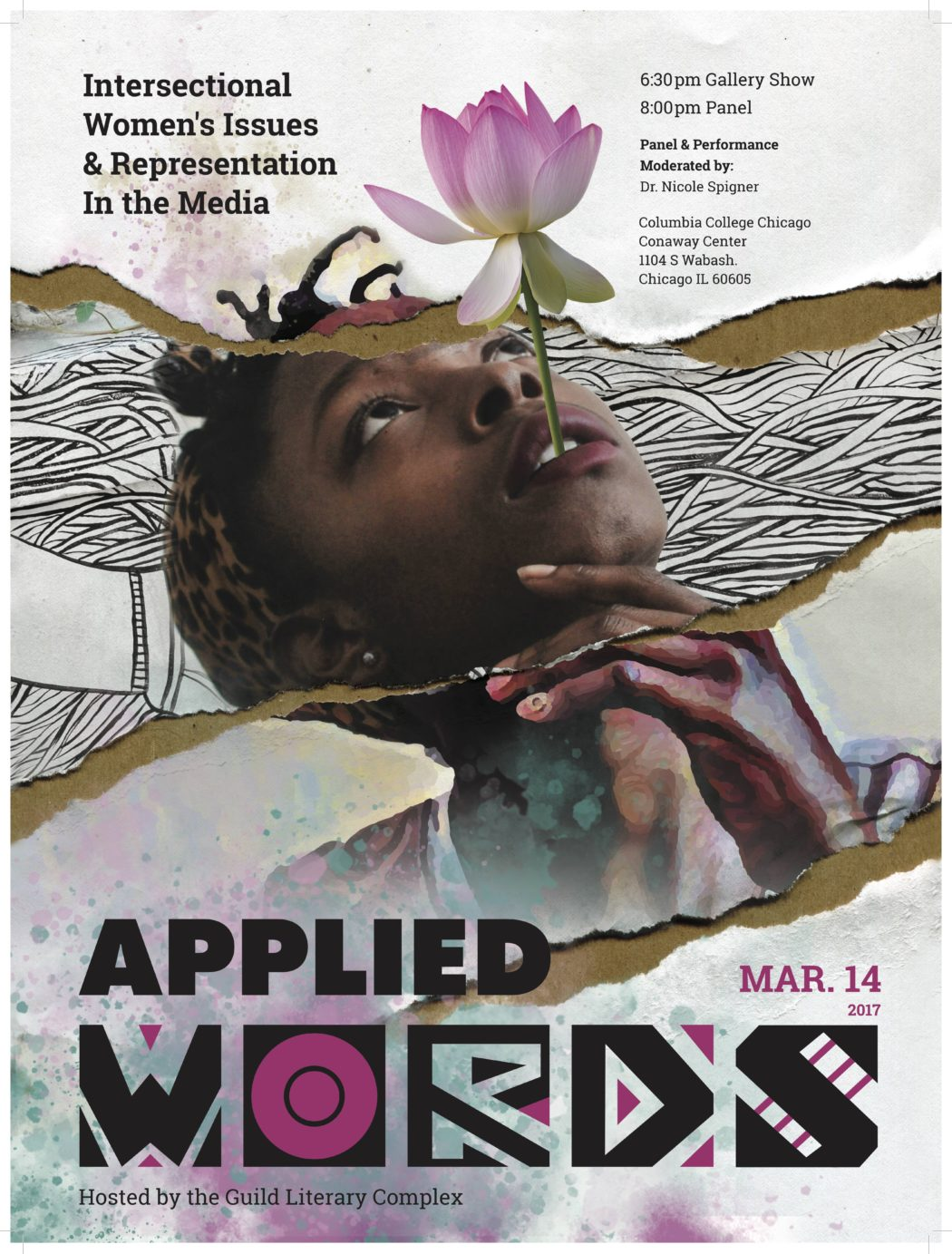 Applied Words: Intersectional Women's Issues and Representation in the Media, March 14, Columbia College Chicago