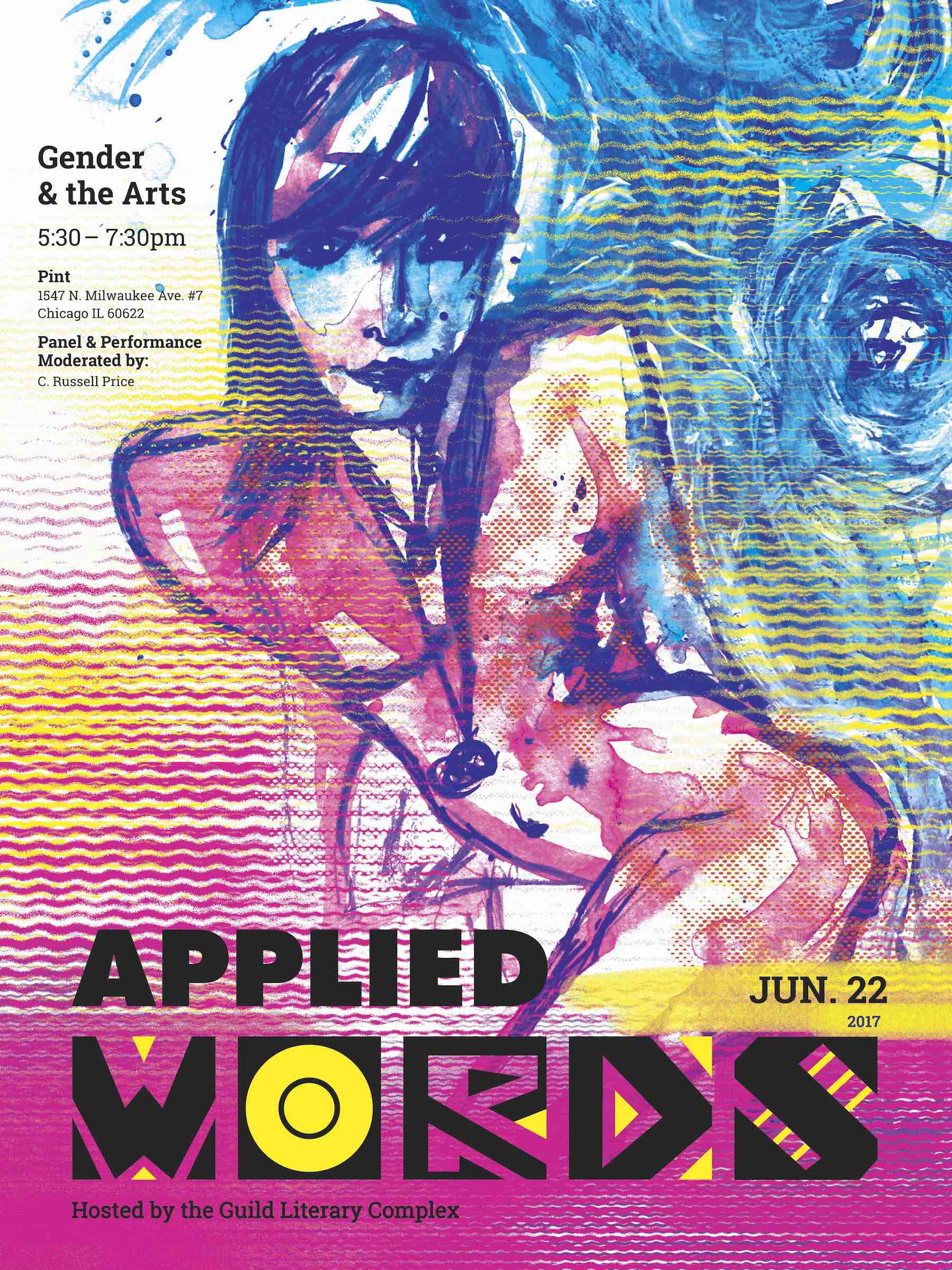 Applied Words: Gender and the Arts | June 22 5:30-7:30 PM