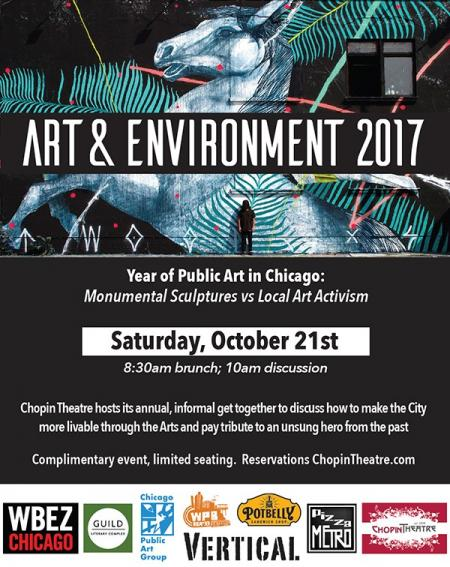 Arts & Environment at Chopin Theatre with Lisa Wagner, and many others
