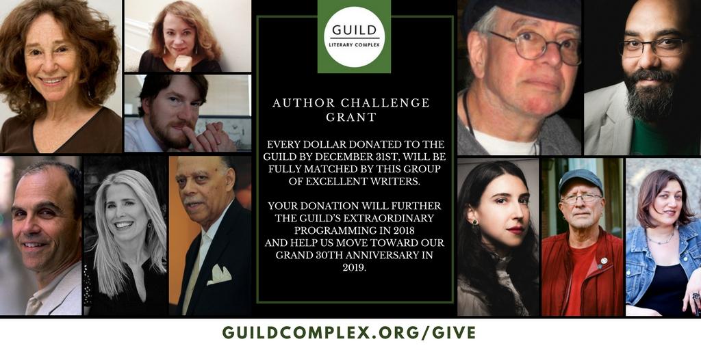 2017 Author's Challenge Grant is here!