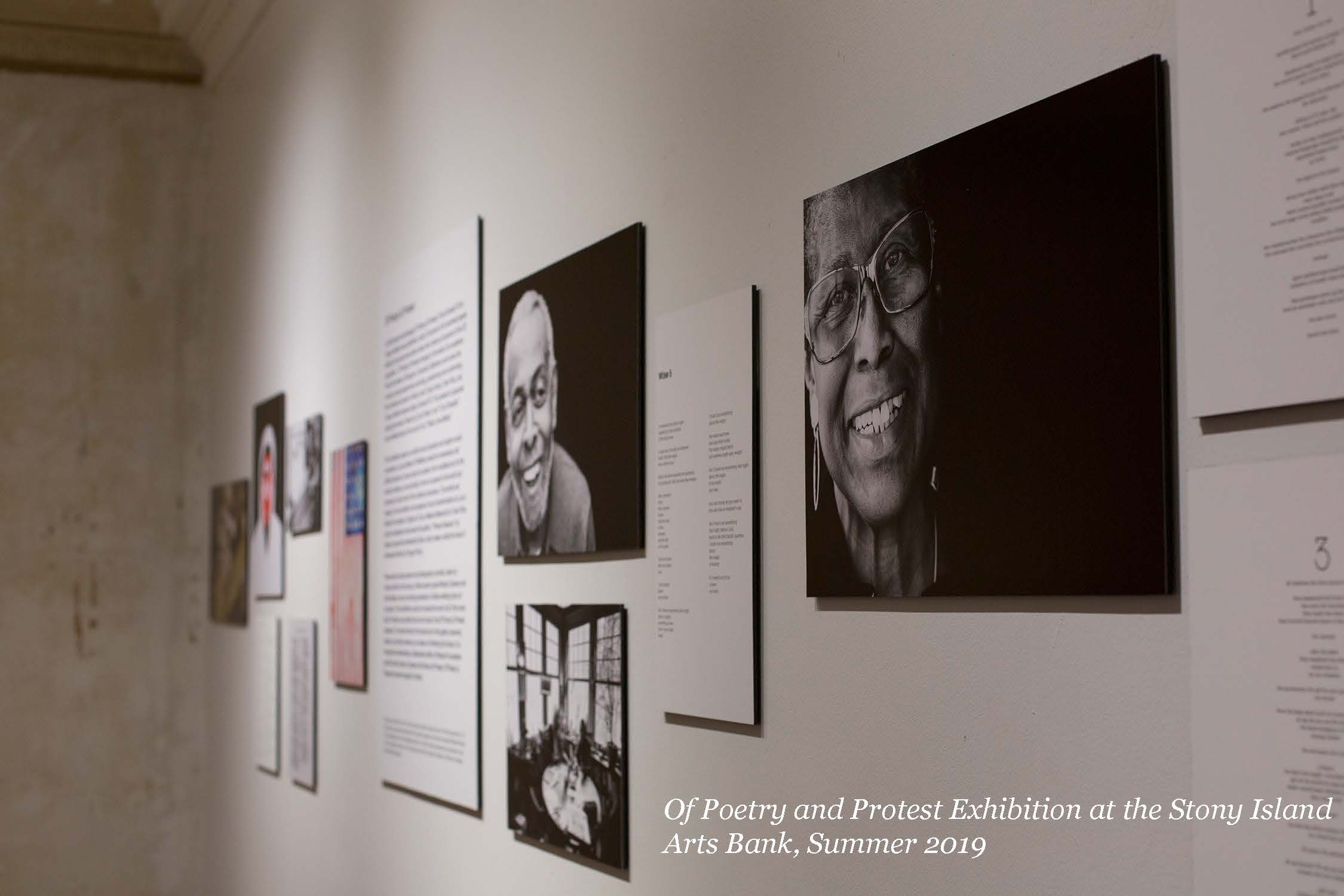 Of Poetry and Protest Exhibition