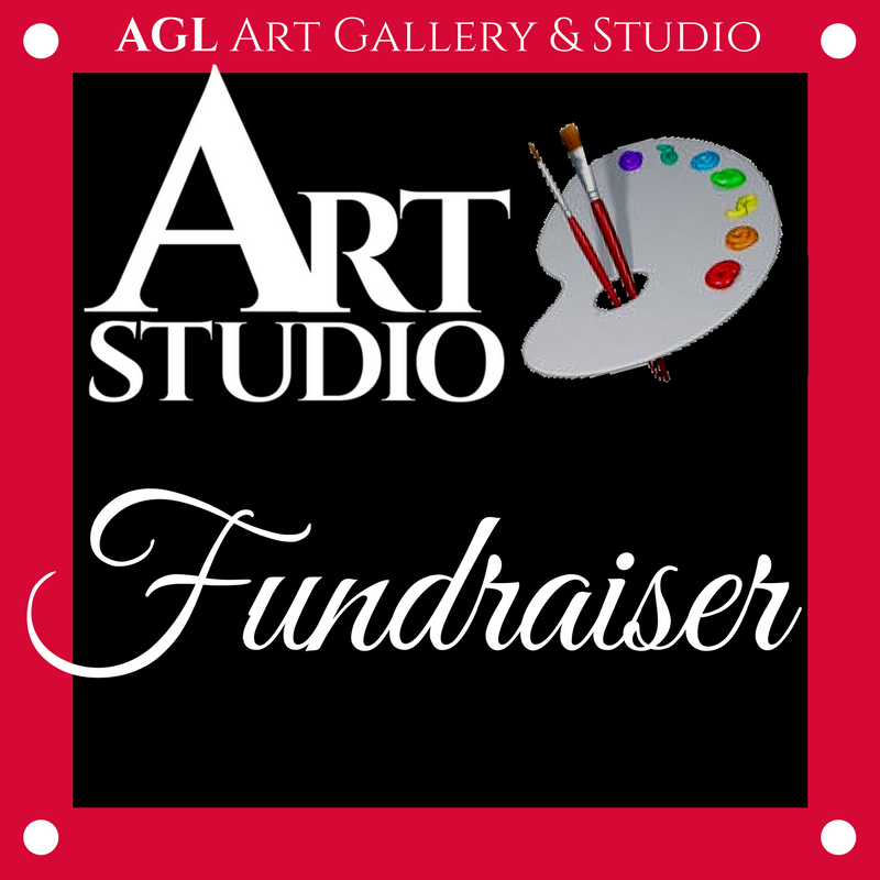 Art Studio Fundraiser Logo