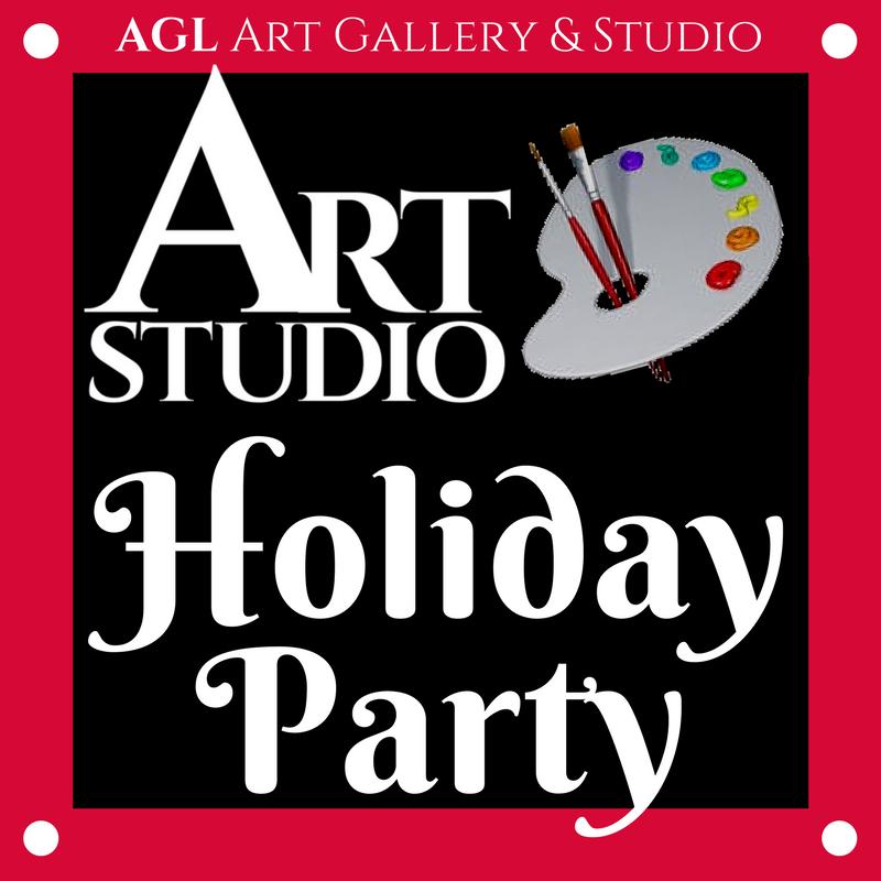 Art Studio Holiday Party Logo