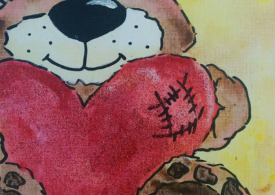 Be My Valentine Painting