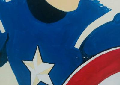 Captain America Painting