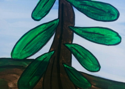 Emily's Tree Painting