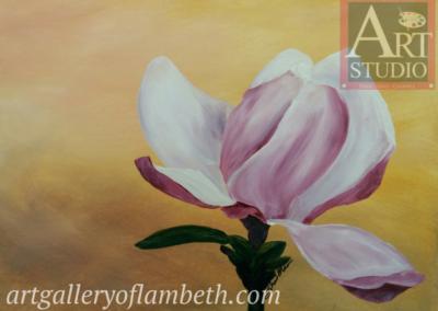 Magnolia Painting